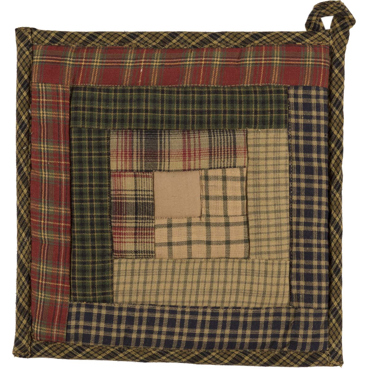 Tea-Cabin-Pot-Holder-Patchwork-8x8-image-2